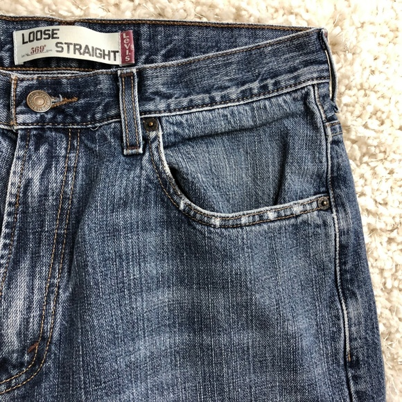 Levi's Other - Levi's 569 loose fit vintage distressed 32x34